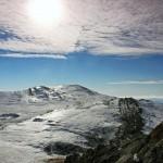 Зима в Ялте на Чатыр Даге
